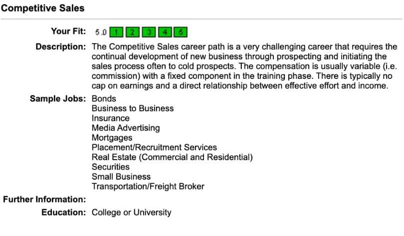Stephen's Packfinder competences