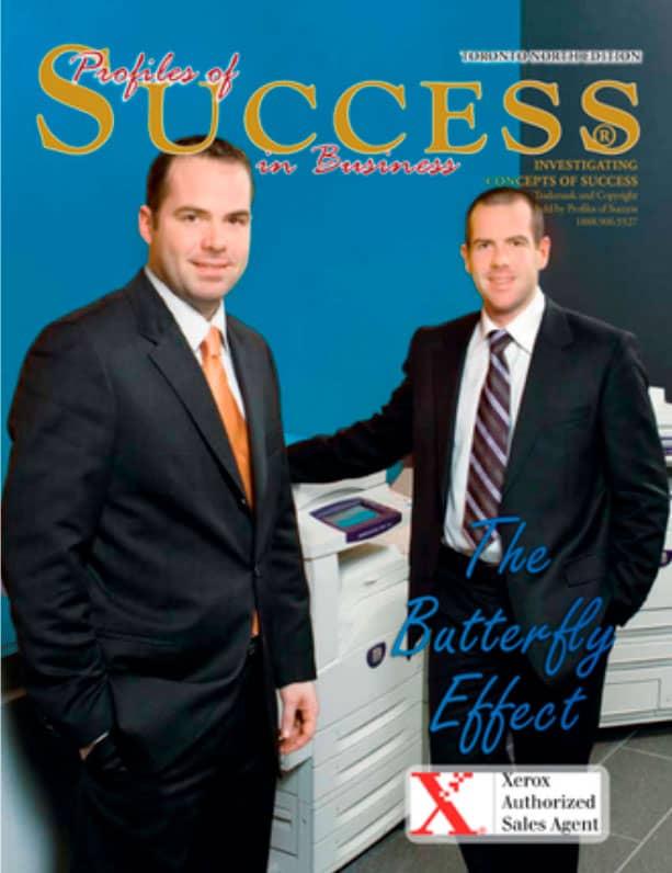 Cover of Profiles of Success Magazine