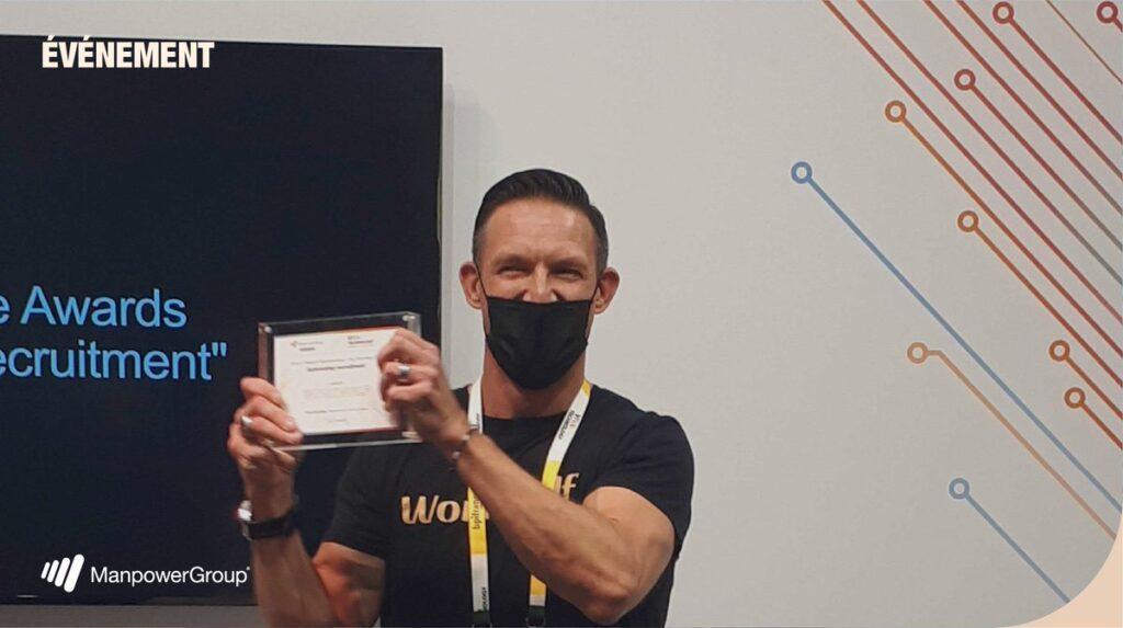 Manpower award at Vivatech